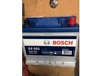 Brand New Bosch car battery
