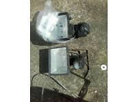 Motion sensor spotlights