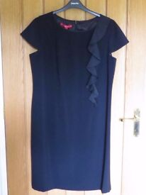 Elegant Jacques Vert Black Dress - Brand New with Label