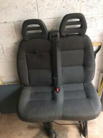 Citroen relay double passenger and driver seat