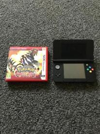 Nintendo 3ds console and game