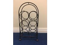 John Lewis Iron Wine Rack