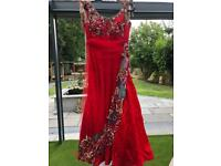 Beautiful Red ballroom dress size 14