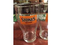 Stones pint glasses