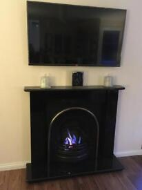 Gas fire ( real flame )