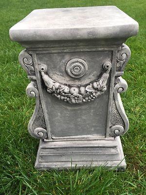 Steinfigur Säule ca. 31 cm ca. 17,3 kg Frostfest