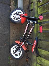 kids balance bike very good condition