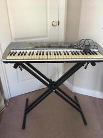 Bontempi keyboard plus adjustable stand