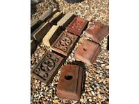 Collection of vintage reclaimed Belfast brick antique