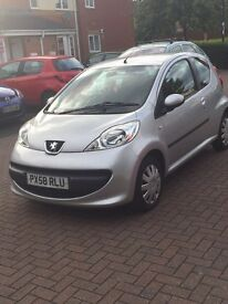 AUTOMATIC Peugeot urban 1.0 low miles 2 owners from new service history 3 months mot hpi clear