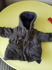 Boys coat 3 to 6 months