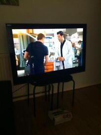 "Sony 40"" TV, kdl 40nx703 with remote, freeview box"