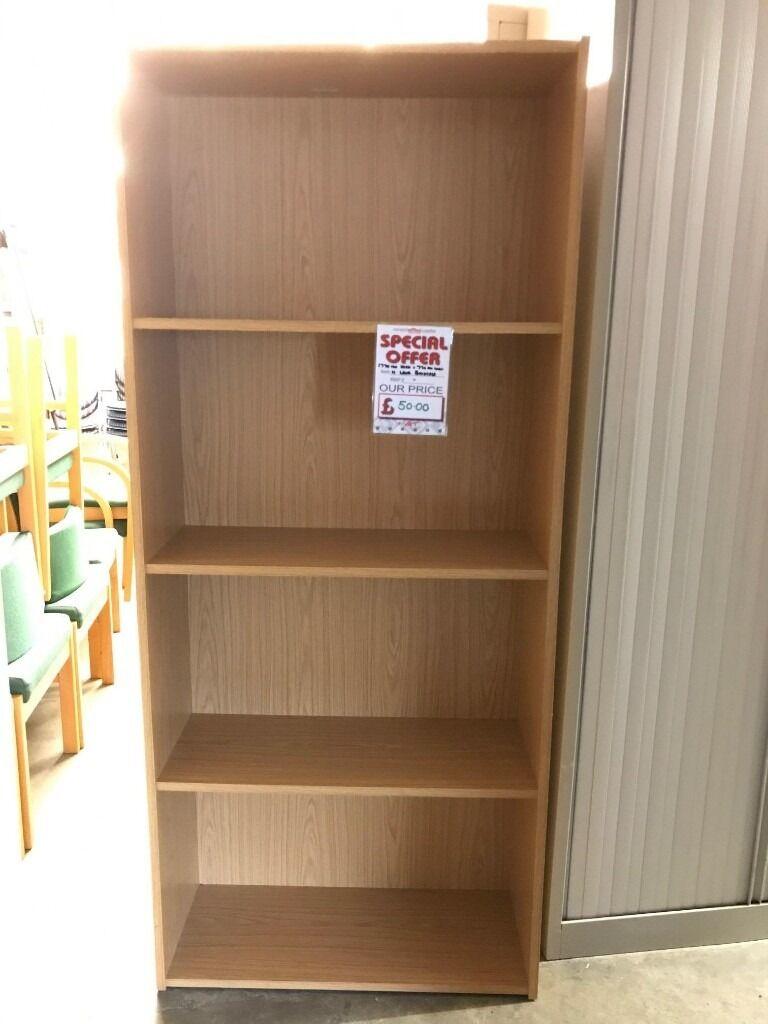 Bookcase, Finished In Oak. 1770mm Height x 770mm Width. 1 In Stockin Norwich, NorfolkGumtree - Bookcase, Finished In Oak. 1770mm Height x 770mm Width. 1 In Stock. Free delivery for Norfolk & Suffolk