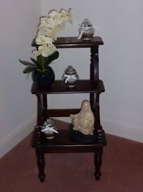 Mahogany Library Steps used for display price reduced