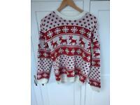Ladies /Unisex Christmas Jumper Size 10/12