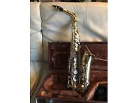 Yamaha alto saxophone for sale, good condition in case with original harness