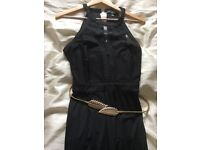 Women's black jumpsuit