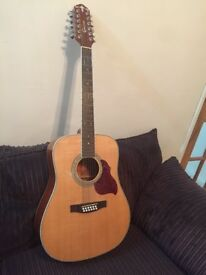 12 string guitar CRAFTER D8-12N