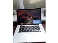 """Apple Macbook Pro A1286 15.4"""" screen i5 processor"""