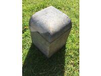 Corner edging blocks/kurbs