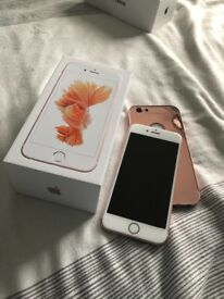 iPhone 6s Rose Gold 128gb Unlocked