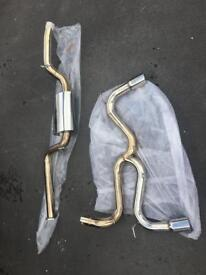Ford focus st mk2 st225 exhaust