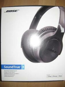Bose SoundTrue Headphones / Headset with Mic. Soft Light weight. Slim. for Iphone. Crisp Clear Audio. AUX. Music. NEW
