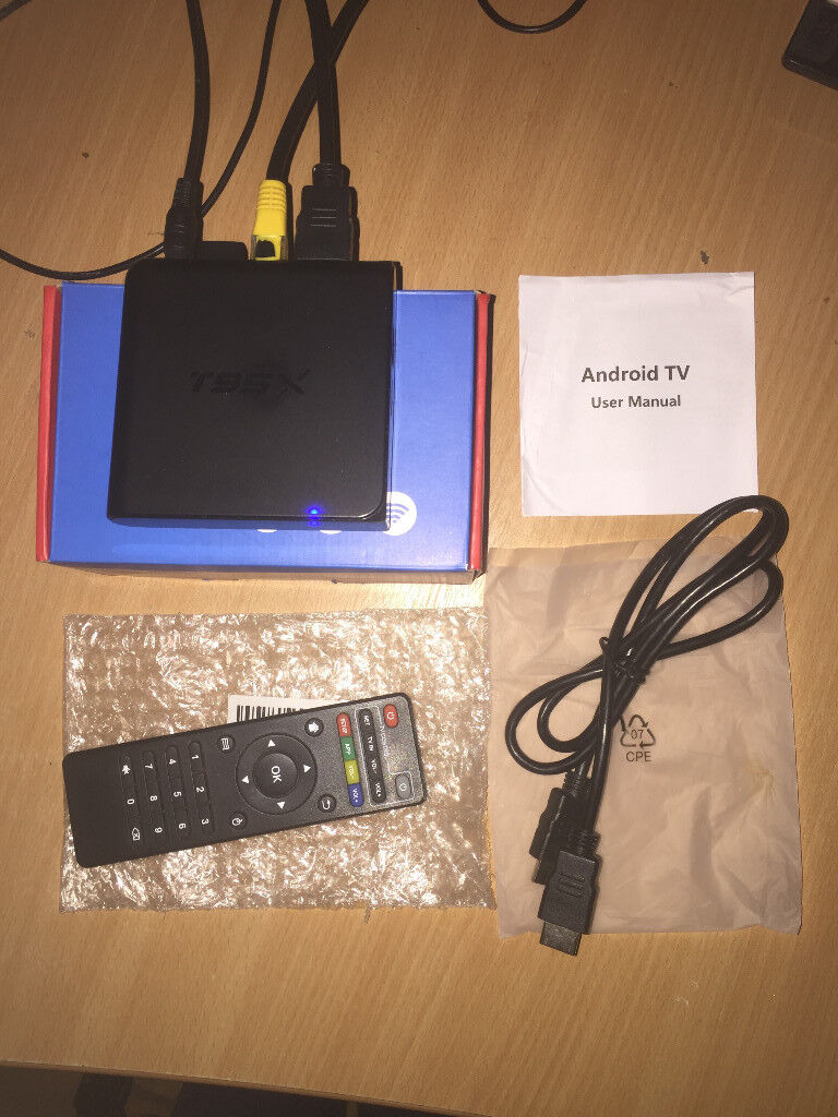 MBOX T95X Amlogic S905X Android TV Box (LOADED) 17 x & latest apps | in  Leicester, Leicestershire | Gumtree