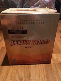 All 21 James Bond films