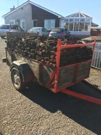 8x4 trailer load of peats /turf