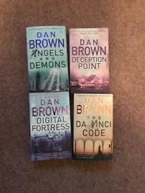 Four Dan Brown books