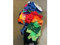 Synthetic Felt Pieces Assorted Colours Large Bagful