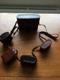 Ilford Sportsman camera and accessories