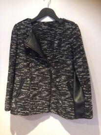 Ladies collarless jacket
