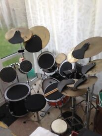 Drum kit for sale with Mapex snare,offers!