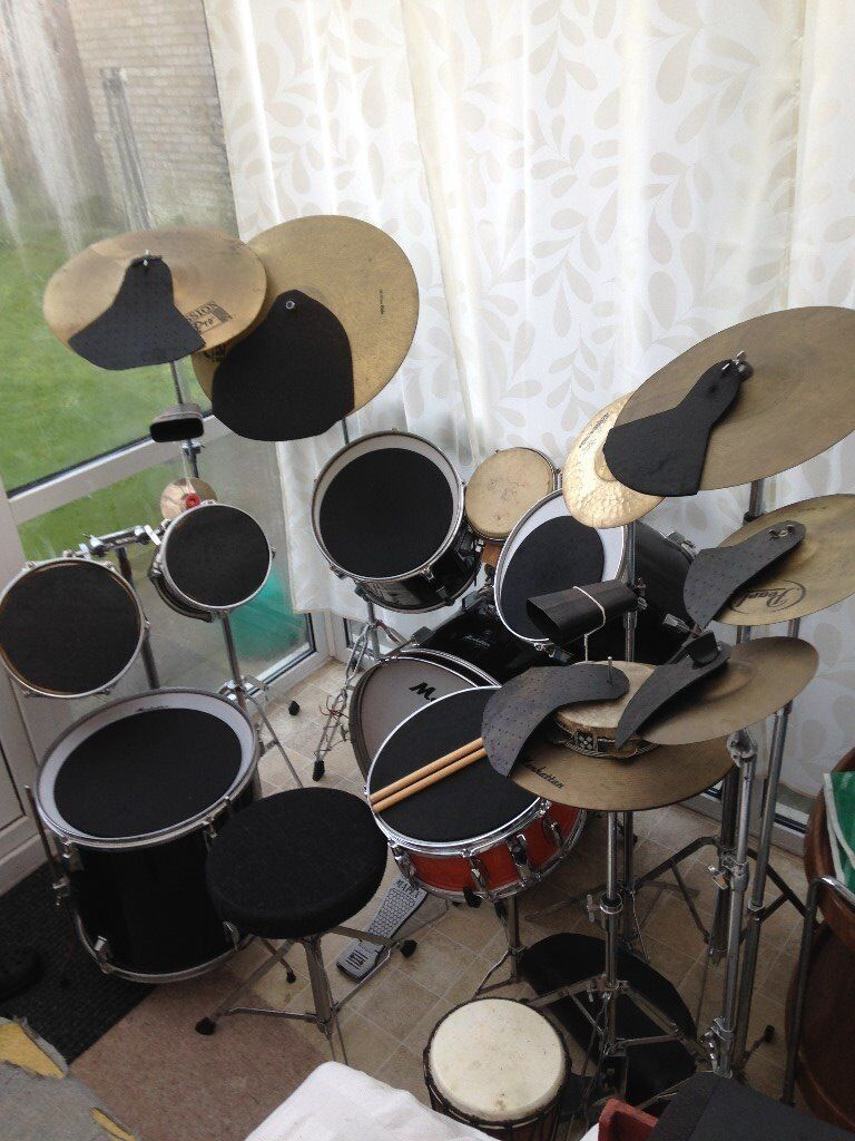 Practice drum kits for sale - Busch gardens virginia