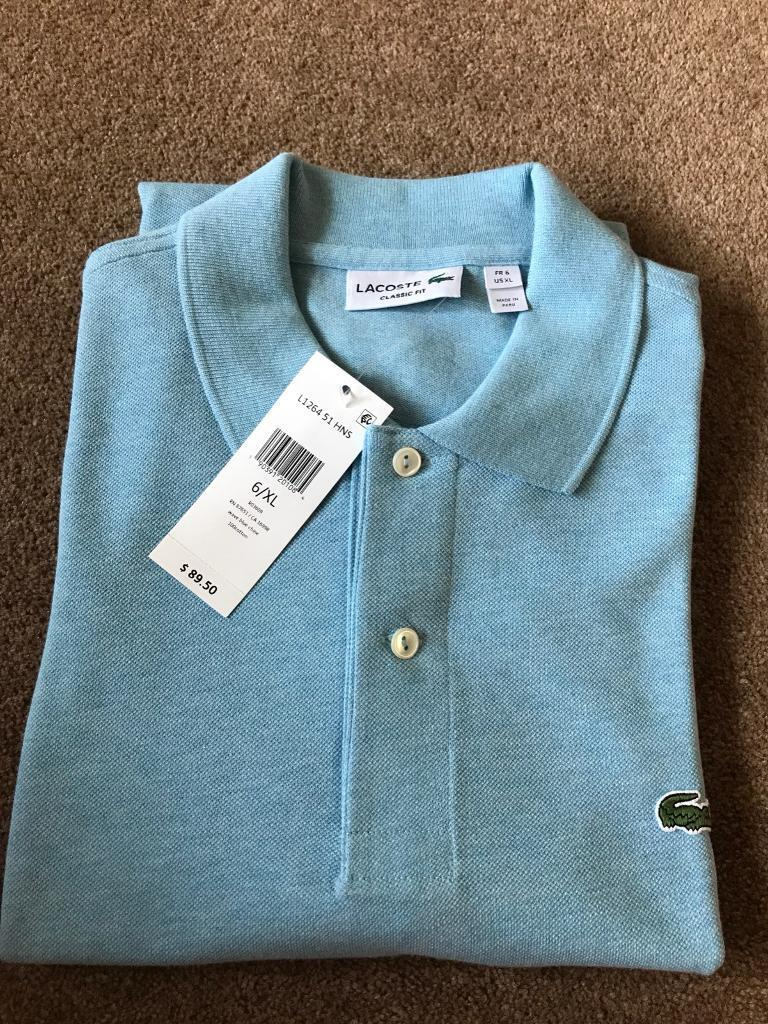 Lacoste Polo Shirt Genuine Size 6 Xl In Derby Derbyshire