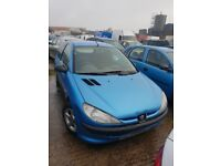 01 PEUGEOT 206 LX 1.9 DIESEL breaking for parts only all parts available postage nationwide