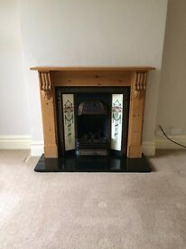 Edwardian fireplace for sale