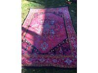 2 matching rugs