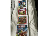 4 X Brand New Nintendo Games