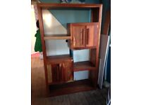Solid wood unit bookcase