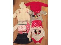 Bundle of brand new baby girl clothes 0-3 months