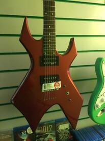 BC Rich Warlock electric Guitar - red *REDUCED*