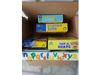 ELC games + 1 other - box of games age range given is 3-7 years approx