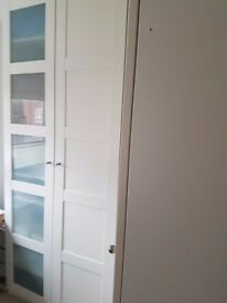 IKEA Bergsbo Corner Wardrobe white 3 modules - can be sold separately