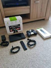 Nvidia Shield 16gb android tv.