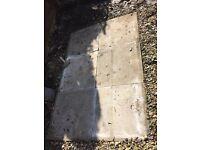6 paving slabs (600mm x 600mm)