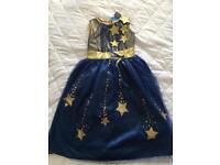 Princess dress fancy dress costume aged 3-4 years