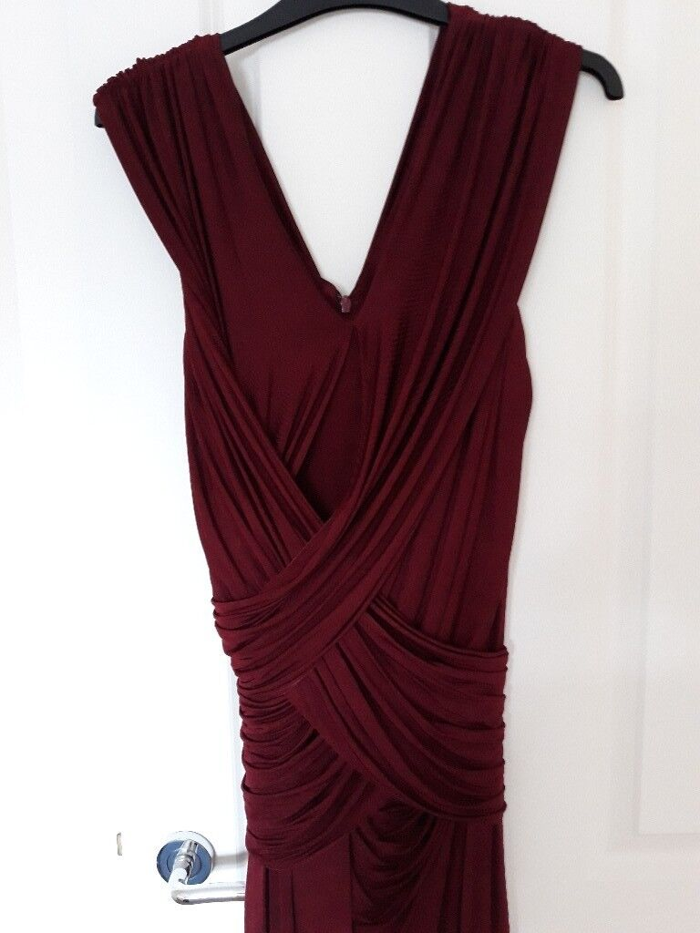 Wine coloured Phase Eight evening dress | in Cirencester ...